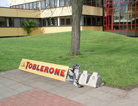 Toblerone Bike Rack