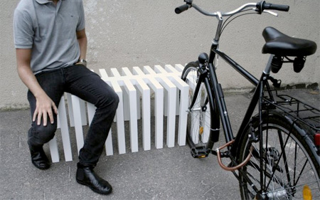 Bench Bike Rack
