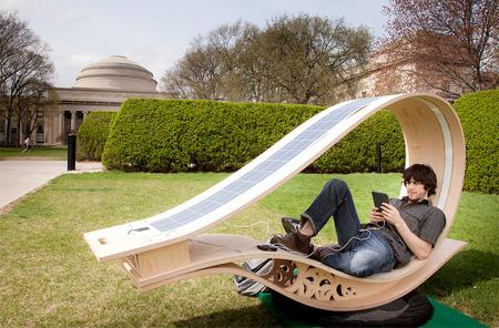 Solar Lounge Chair