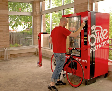 Self Service Bike Kiosk
