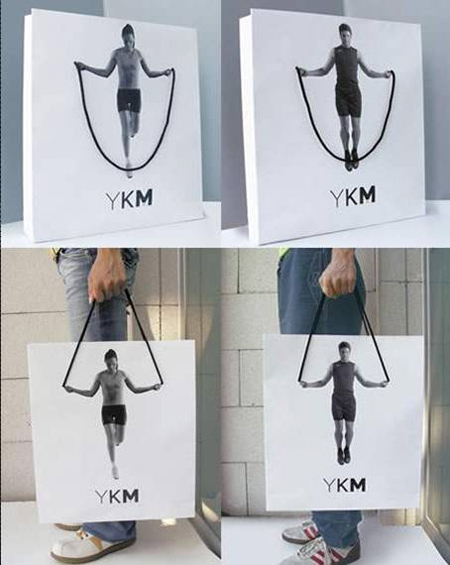YKM Bag Advertisement