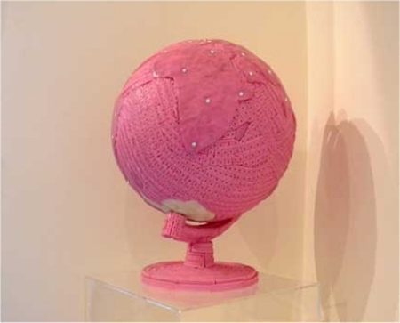 Pink Chewing Gum Sculptures 10