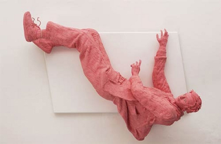 Pink Chewing Gum Sculptures 4