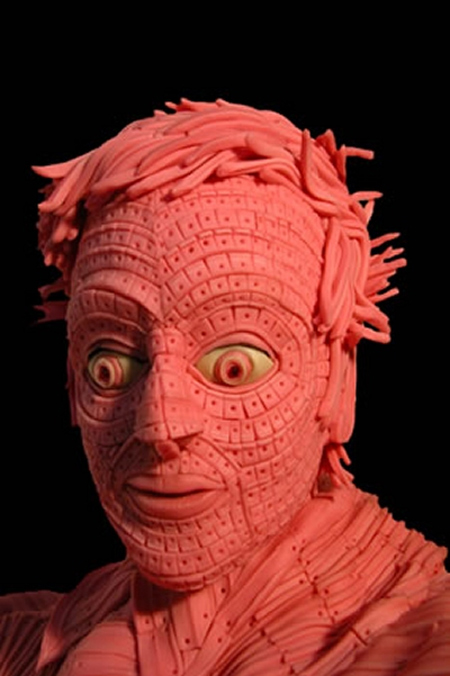 Pink Chewing Gum Sculptures 6