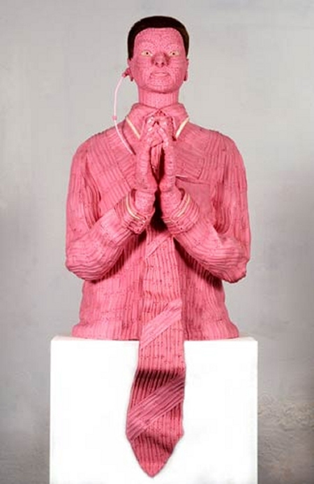 Pink Chewing Gum Sculptures 7