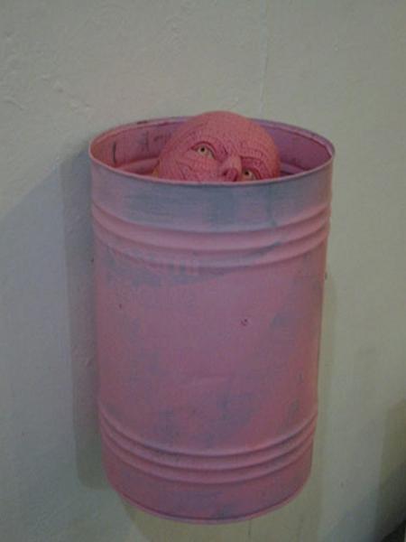 Pink Chewing Gum Sculptures 8