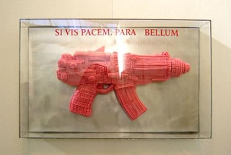 Pink Chewing Gum Sculptures 9
