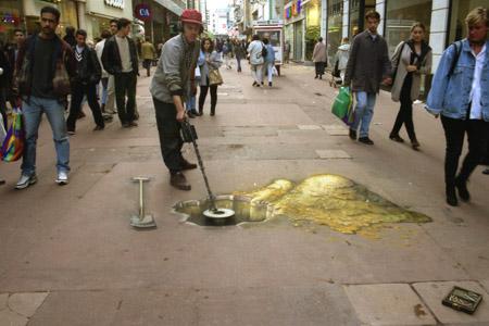 3D Sidewalk Chalk Art 9
