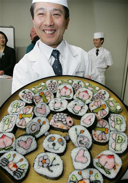 Japanese Sushi Sunflowers 2