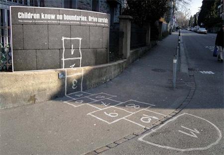 Drive Carefully Advertisement