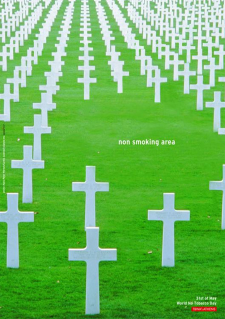 World No Tobacco Day Advertisement