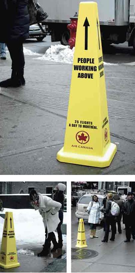 Air Canada Advertisement