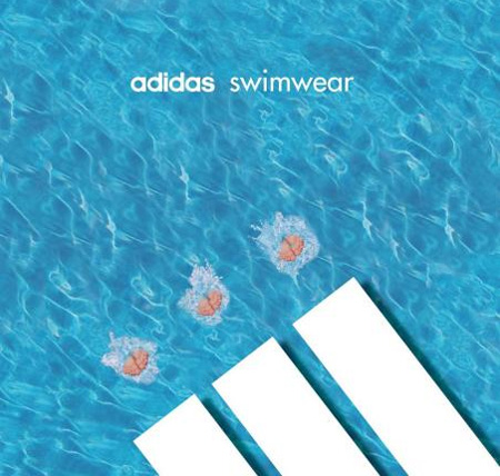 Adidas Swimwear Advertisement
