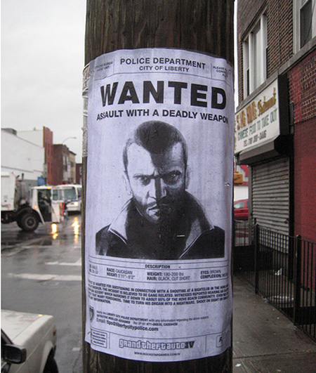 GTA IV Advertisement