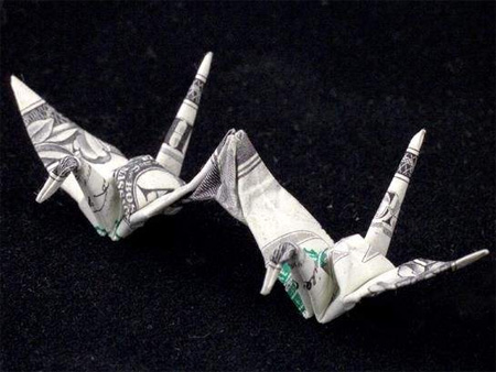 Creative Dollar Bill Origami 2