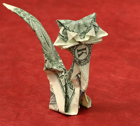 Creative Dollar Bill Origami