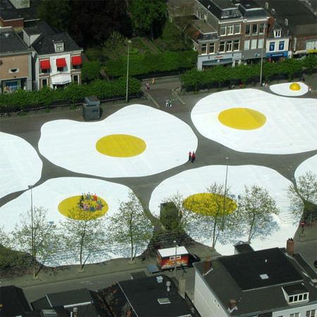 Giant Eggs in Netherlands 2
