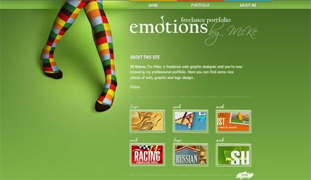 Green CSS Designs