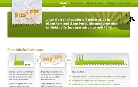 Green CSS Website Designs 12