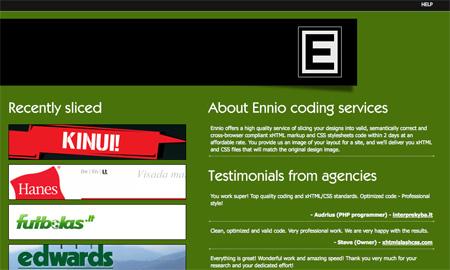Green CSS Website Designs 14