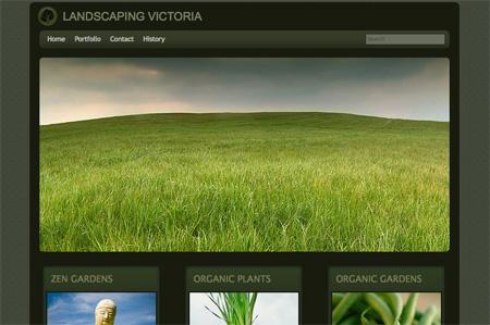 Green CSS Website Designs 17