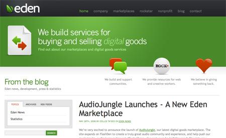 Green CSS Designs 07