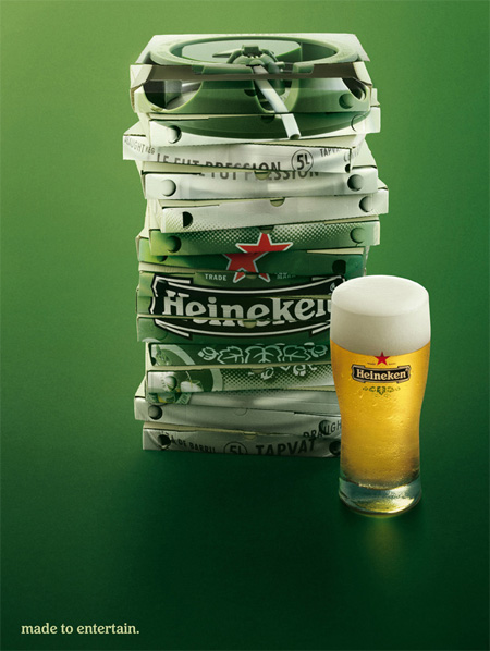 Heineken Made to Entertain Ad