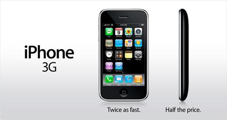 Apple iPhone 3G Announced