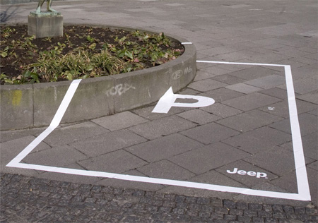 Jeep Parking Space Ads 3