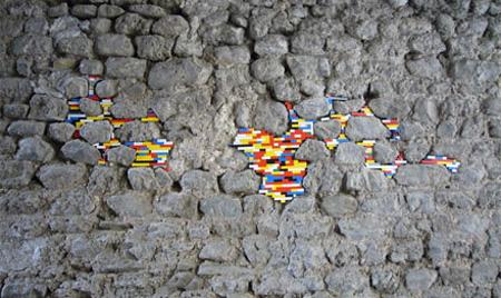Ancient LEGO Walls