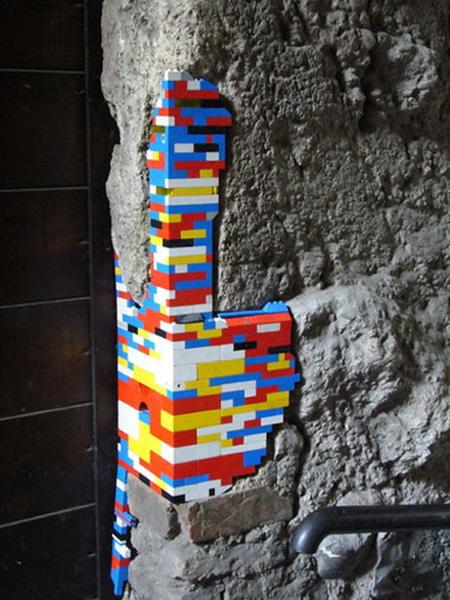 Ancient LEGO Walls 5