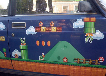 Russian Super Mario Car