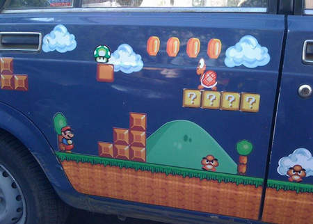 Russian Super Mario Car 2