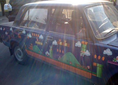 Russian Super Mario Car 4