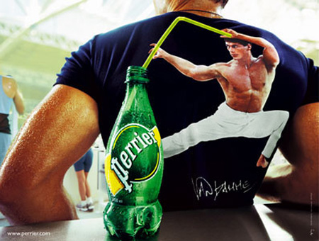 Perrier Advertisement