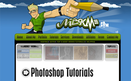 Websites with Free Photoshop Tutorials 22