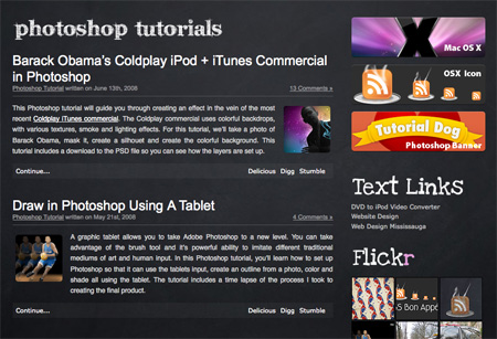 Websites with Free Photoshop Tutorials 23