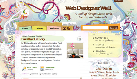 Websites with Free Photoshop Tutorials 24