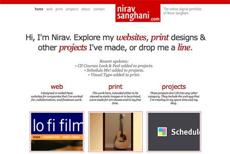 Red CSS Website Designs 18