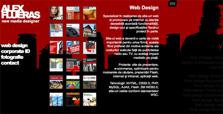 Red CSS Website Designs 04