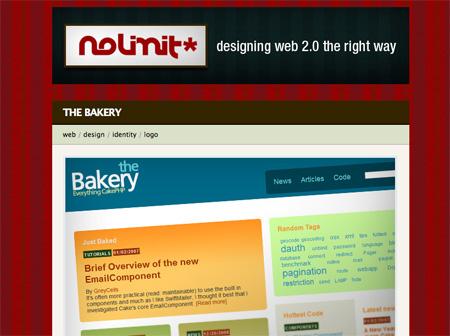 Red CSS Website Designs 17
