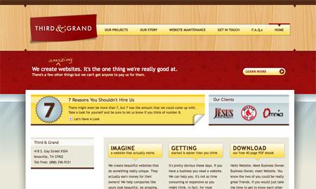 Red CSS Website Designs 03