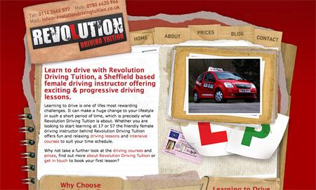 Red CSS Website Designs 07