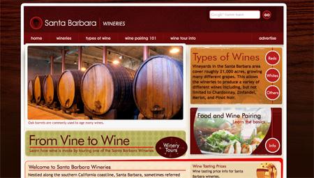 Red CSS Website Designs 15