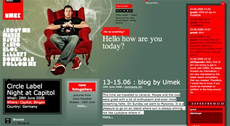 Red CSS Website Designs 13
