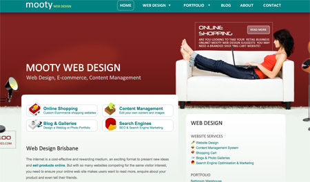 Red CSS Website Designs 09