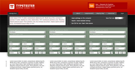 Red CSS Website Designs 08