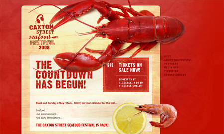 Red CSS Website Designs 01