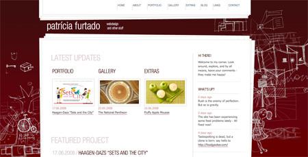 Red CSS Website Designs 02