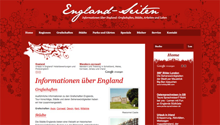 Red CSS Website Designs 06
